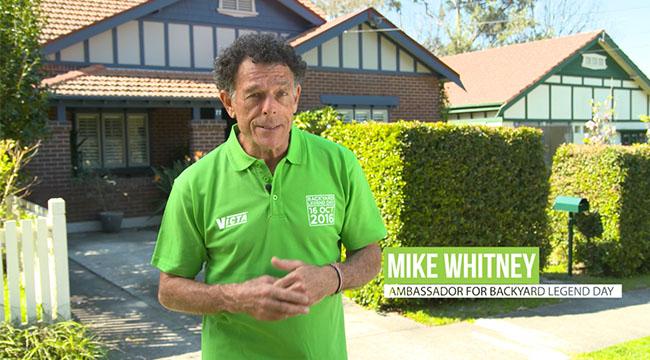 Mike Whitney - Backyard Legend Day