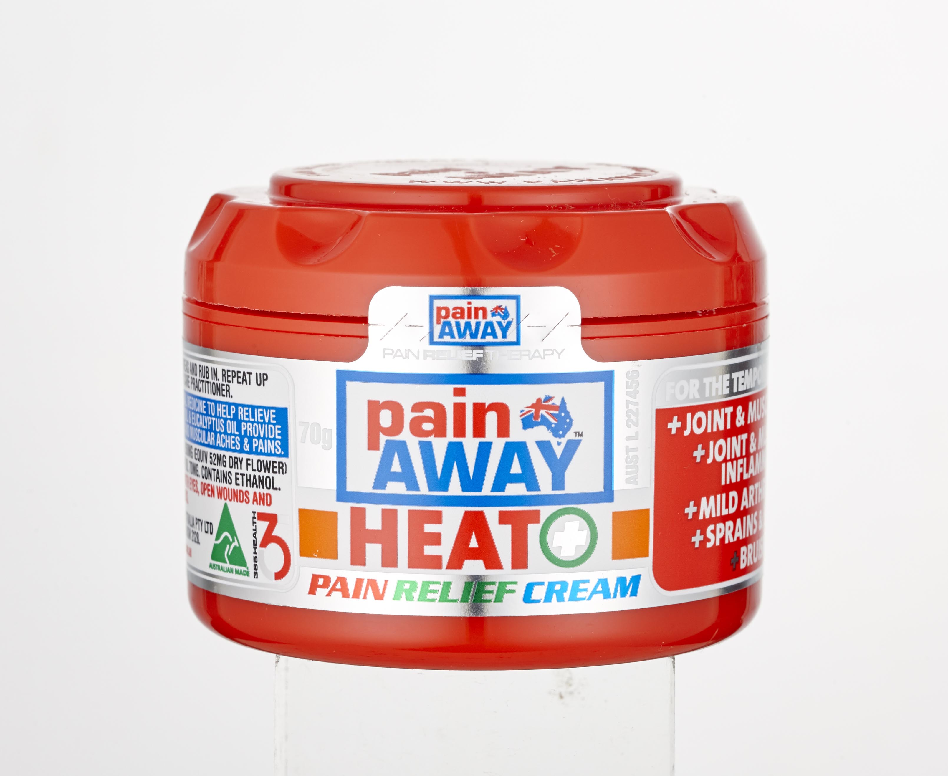 Photography Services - Pain Away Heat Pain Relief Cream