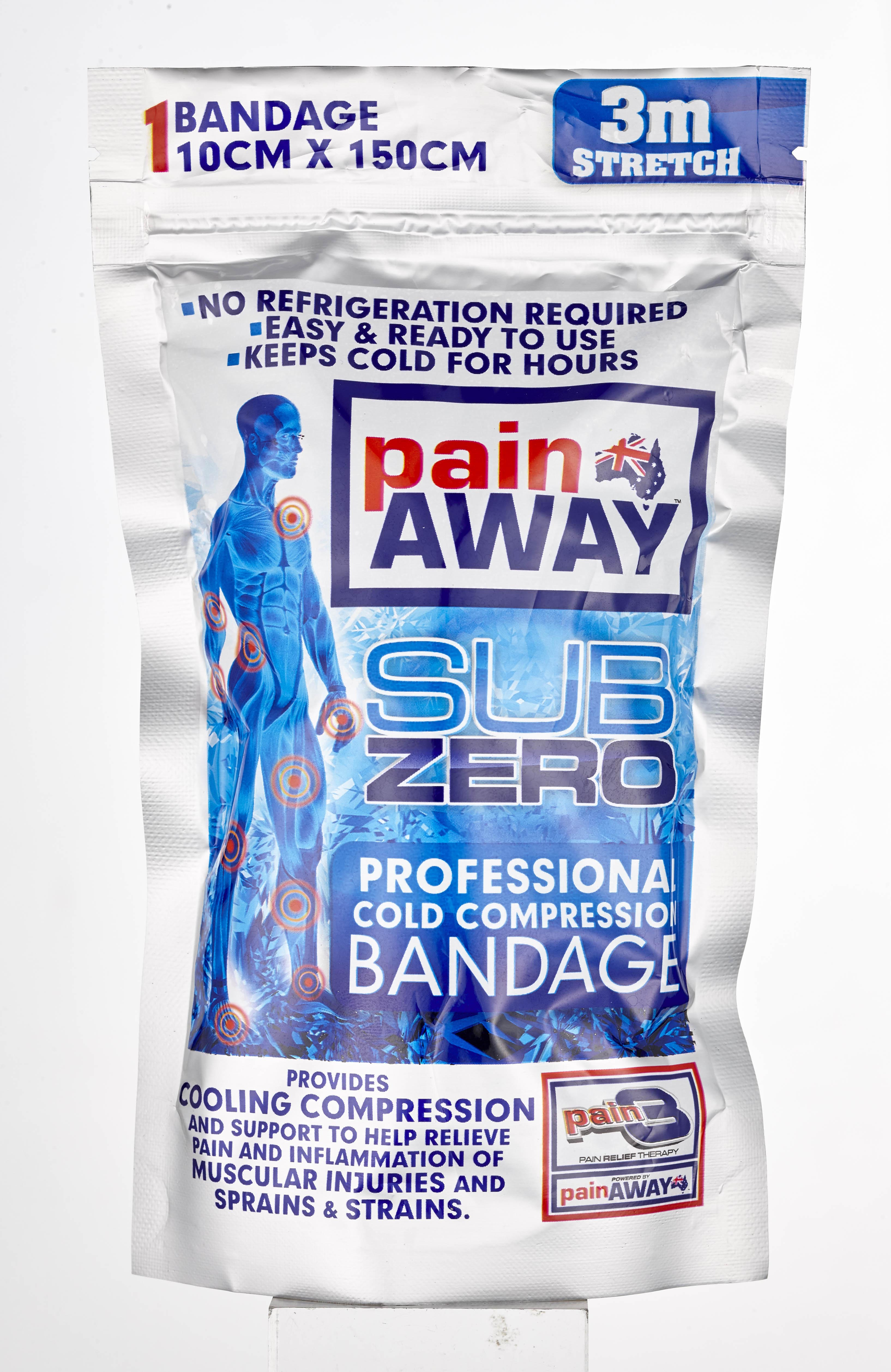 Photography Services - Pain Away Cold Compression Bandage