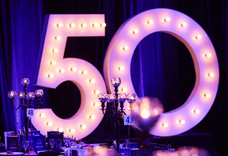 Event Management Portfolio - Penrith Penther 50'th Season Anniversary Dinner