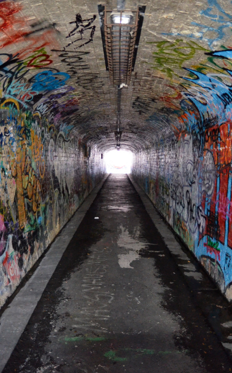 Photography Services - Street Art Tunnel