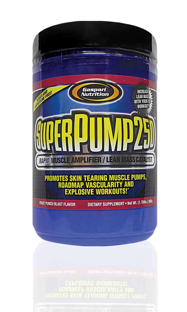 Photography Services - Super Pump 250 Suppelment