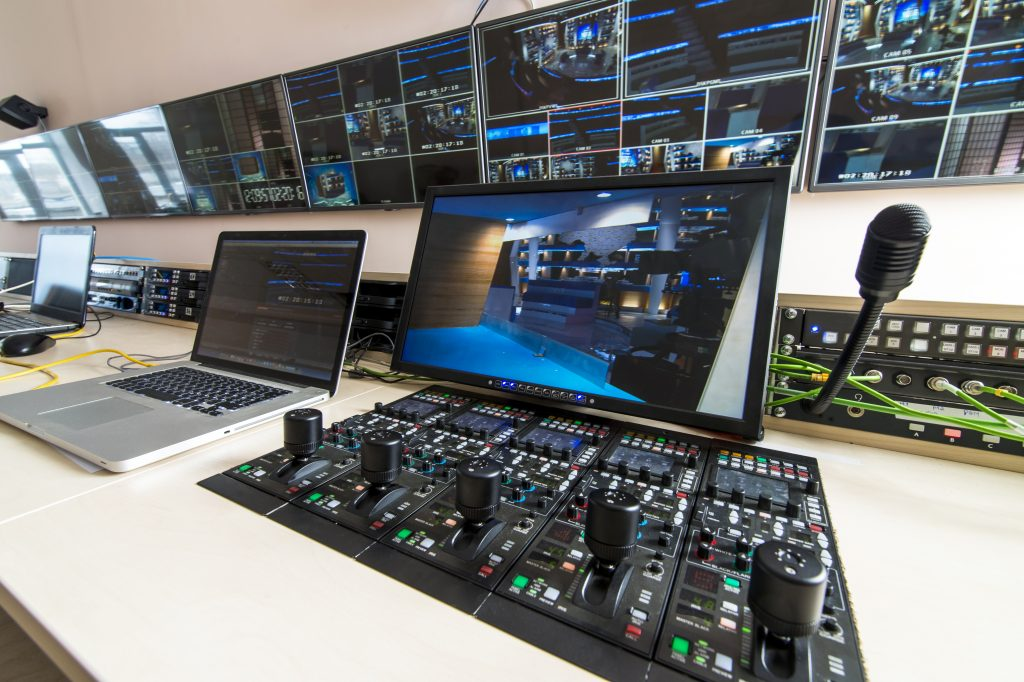 Event Broadcasting Control Room